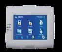Inbraakcentrale met touchscreen