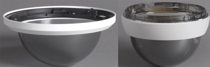 VGA-BUBBLE-CTIR Burbuja, en techo, tintada, reforzada