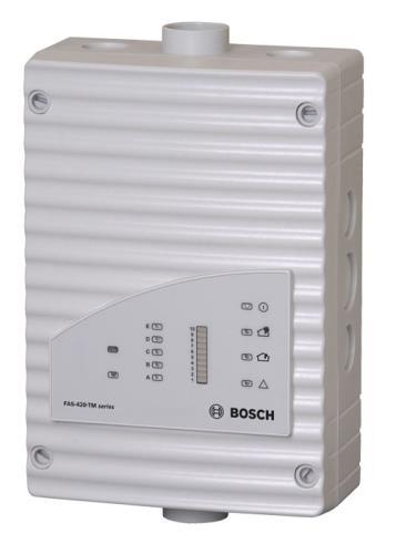 FAS-420-TM-RVB Detector humo aspiración, gráfico barras