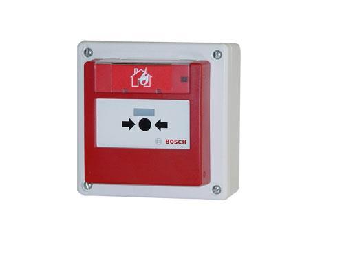 FMC-420RW-HSRRD Manueller Melder, außen rücksetzbar rot