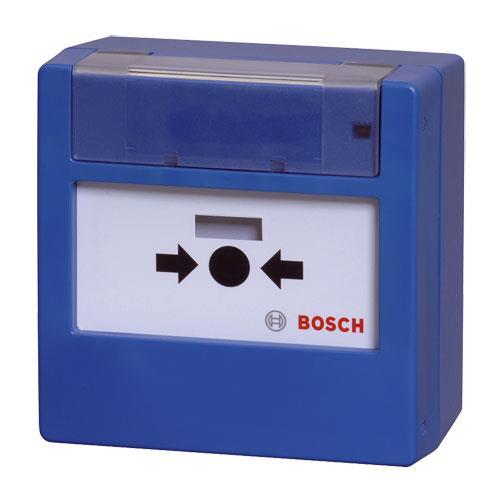 FMC-420RW-GSRBU Manueller Melder, rücksetzbar,blau
