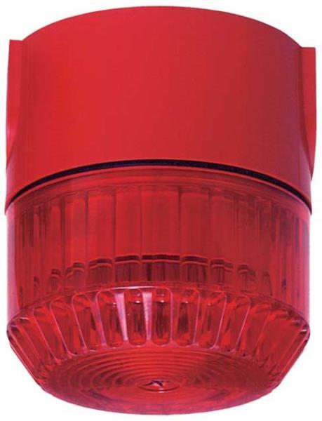BL 1 rot, 24 V, a.P. Kabelzuführung, IP 65
