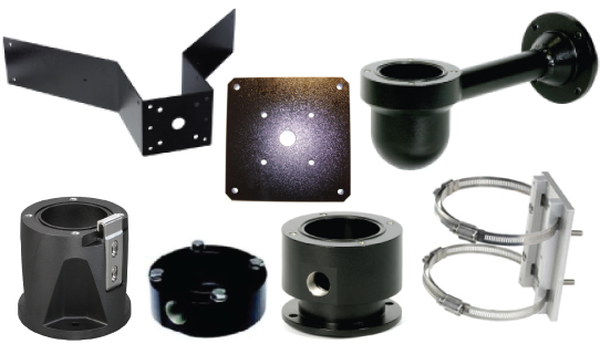 MIC Mounting Brackets and Other Accessories