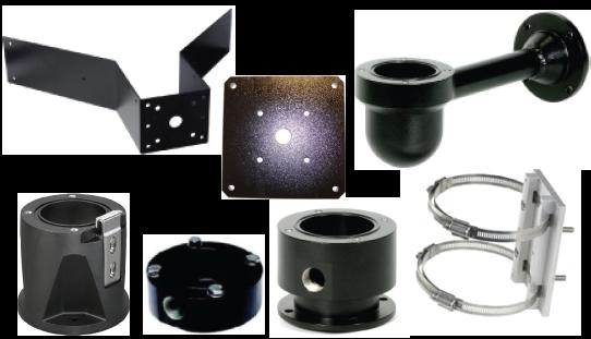 Soportes de montaje y otros accesorios para cámaras MIC