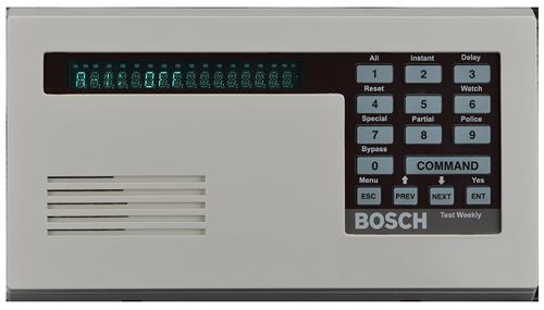 D1255 Keypad, fluorescent, off-white, SDI
