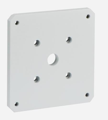 MIC-SPR-W 壁面マウントスプレッダープレート、白