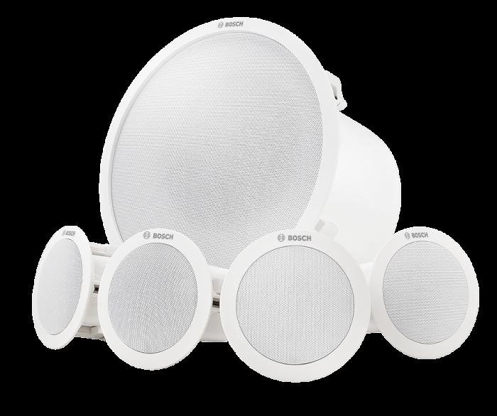 LC6-100S-L Deckeneinbau-Lautsprechersystem, weiß