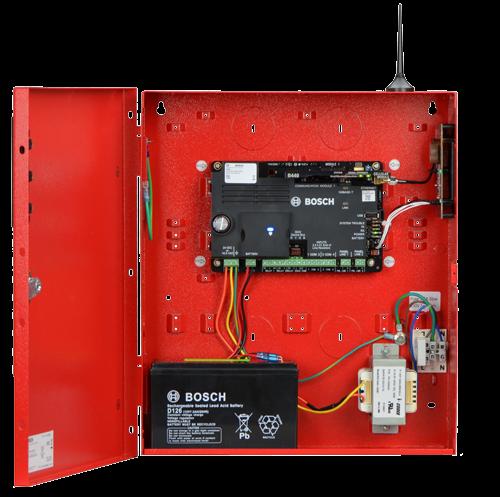 B10R-1640-120WI Enclosure, medium, red, 16.5VAC 40VA