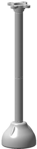 VDA-70112-PMT Halterung für hängende Rohrmontage
