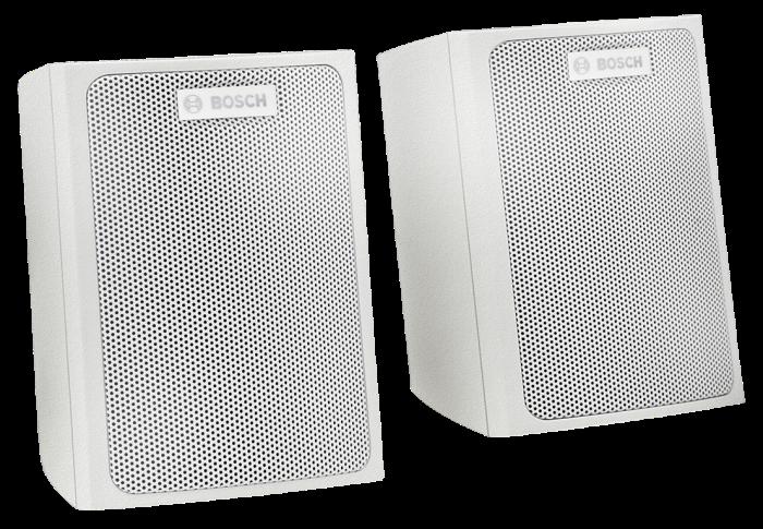 LB6-S-L Wall mount satellite speaker, white