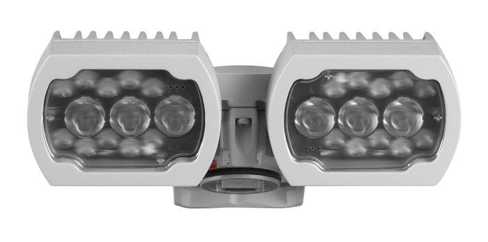 MIC-ILG-300 Illuminator white-IR light 450m, gray