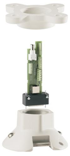 VG4-A-9543 AUTODOME用パイプマウント、白