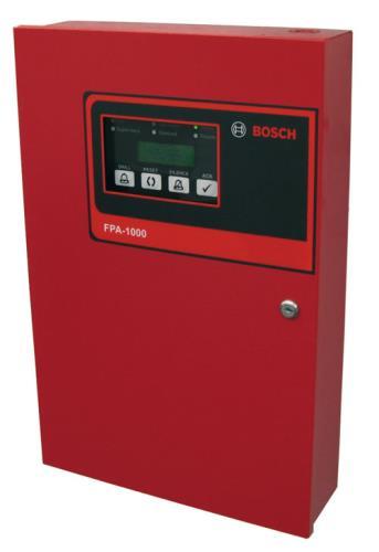Centrales de Incendios Analógicas Direccionables FPA‑1000