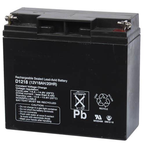 D1218 Batería, 12V 18Ah