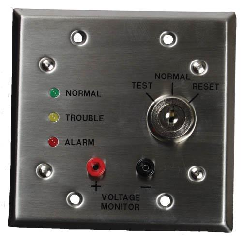D344-RT Remote test/indicator plate, 24V