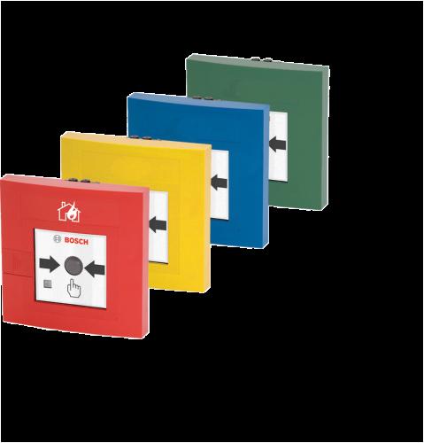 FMC‑210‑DM Déclencheurs d'alarme incendie double effet