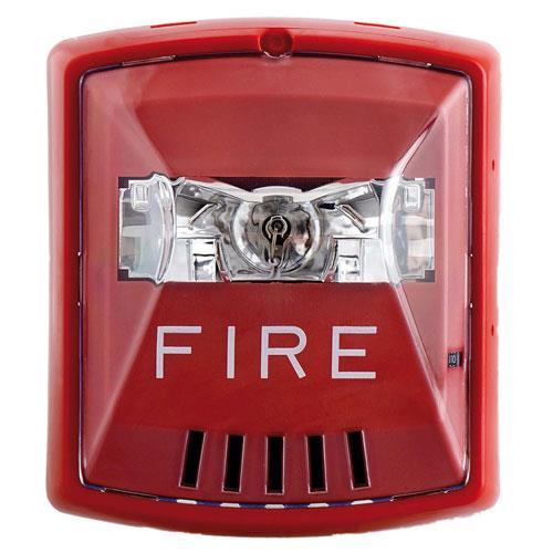 400541409158 likewise Fire Alarm Bell Strobe likewise Securityaccess Plan Symbols further 177 System Sensor Pc2rh Ceiling Mount Horn Strobe 12 24v High Candela Red furthermore Fire Alarm Systems. on red horn strobe