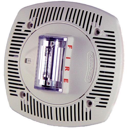 G-SSPK24CLPW Altavoz/luz estr. techo, 15-110cd, 24V