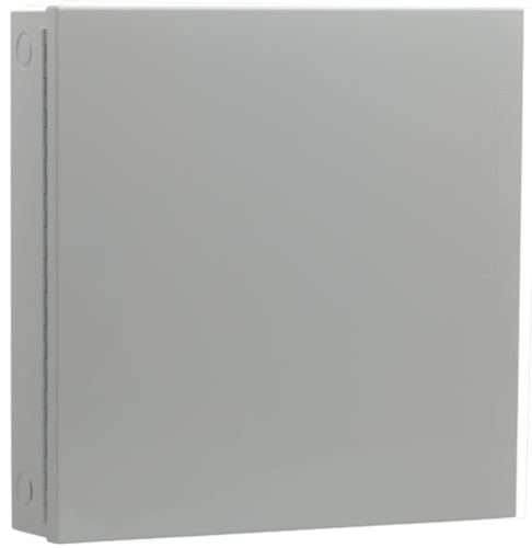 D8103 Steel enclosure, large, grey
