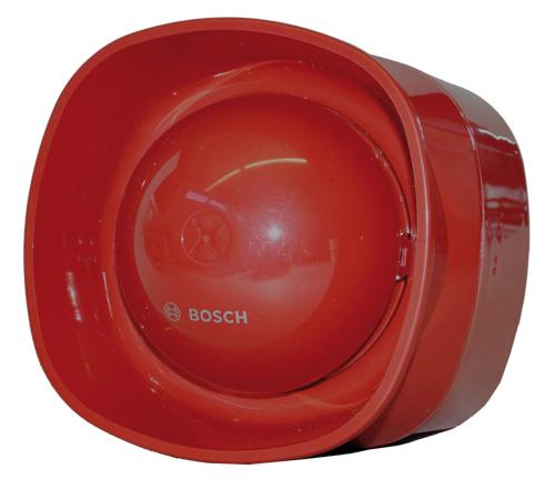 FNM-420V-A-RD Sirena con voz, direccionable, rojo