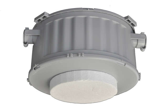 FAA-500-CB Housing for concrete ceilings