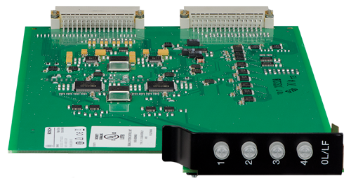 D6641 Telephone line card