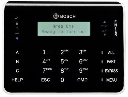 B921C Two-line Keypad w/Touch keys, Inputs