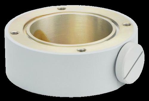 MIC-SCA-WD 浅型コンジットアダプター、白サンド