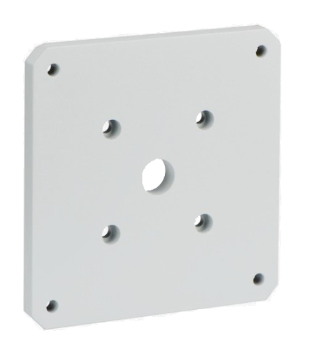 MIC-SPR-WD Wall mount spreader plate, white sand