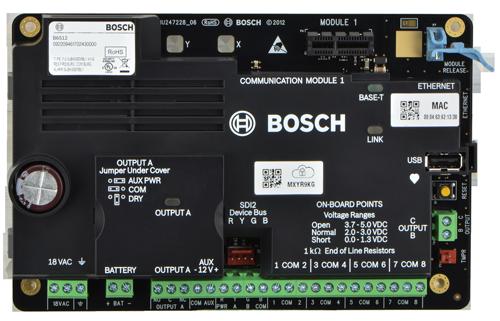 B6512 Panel de control, 96 zonas