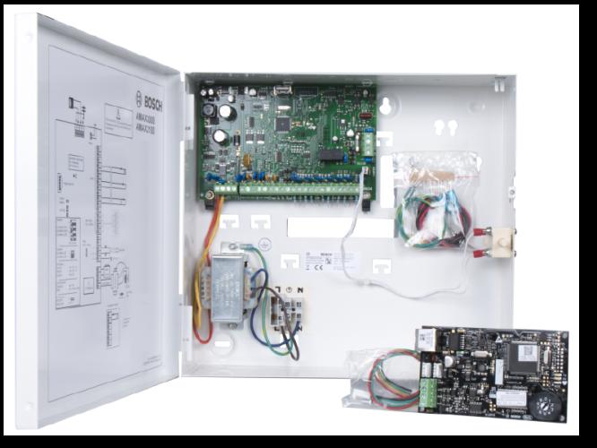 AMAX3-P2ENE Kit intrusion, fr/de/nl/pt, Ethernet