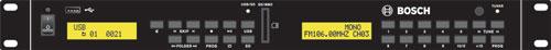 PLE-SDT Music source, USB/SD/Tuner