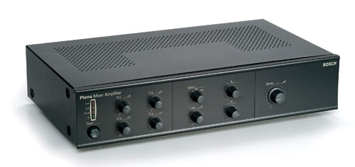 LBB 190x/10 and LBB 191x/10 Plena Mixer Amplifiers