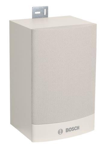 LB1-UW06-FL1 Cabinet loudspeaker, 6W, flat, white