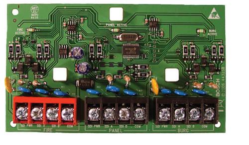 ICP-SDI-9114 SDI isolated bus splitter