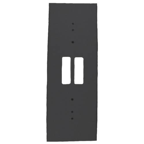 TP161 Trim plate for DS151 and DS161, black