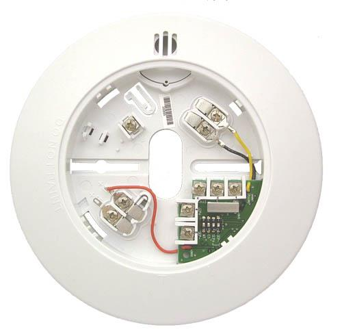 F220-B6RS Base with sounder & form A relay, 4-wire