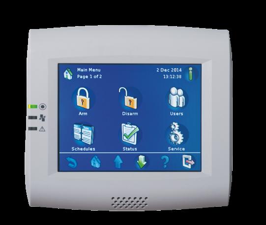 IUI-MAP0001-2 Touchscreen control panel
