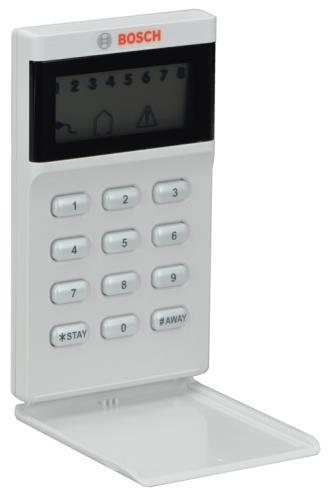 IUI-AMAX-LCD8 Teclado LCD, 8 zonas