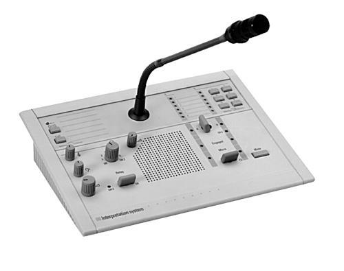 LBB3222/04 Pupitre de intérprete analógio