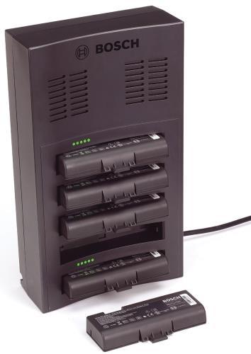 DCN-WCH05 バッテリパック充電器(5 個のバッテリパックに対応)