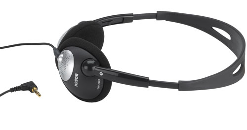LBB3443/10 轻便耳机,编织线缆
